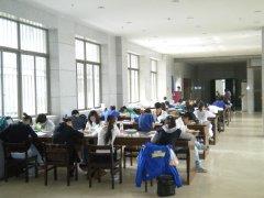 武汉工程大学自考图书馆内部自习室