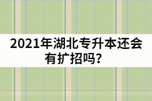 湖北普通专升本报名超过4万人,2021年还会有扩招吗?
