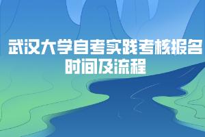 武汉大学自考实践考核报名时间及流程