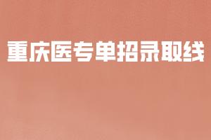 重庆医专单招录取线