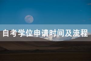 2020年秋季武汉大学自考学位申请时间及流程