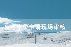 2020年秋季武汉大学自考学位申请现场审核需要提交哪些资料