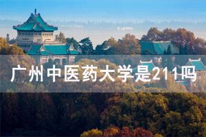 广州中医药大学是211吗