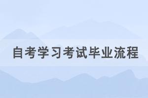湖北自考报考学习考试毕业流程