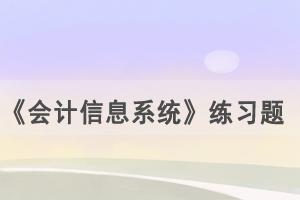 2021年4月武汉自考《会计信息系统》练习题及答案(8)