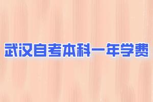 武汉自学考试本科一年学费
