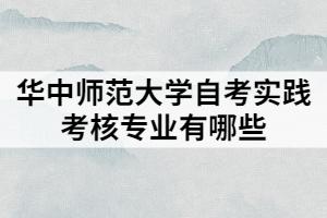 华中师范大学自考实践考核专业有哪些