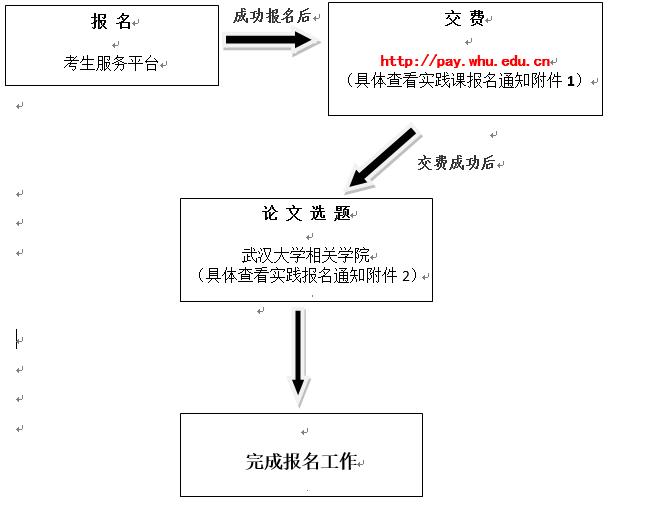 武汉大学自考主考专业实践考核