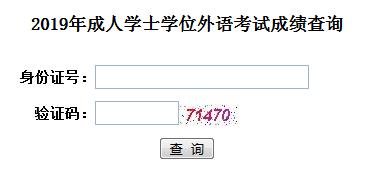 2019年华中科技大学自考学位英语成绩查询入口