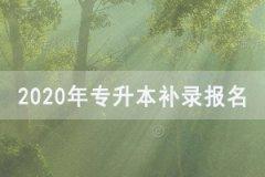 <b>2020年湖北普通专升本补录报名时间及入口</b>