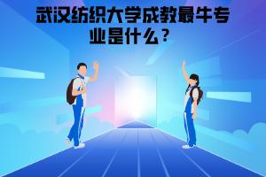 武汉纺织大学成教最牛专业是什么