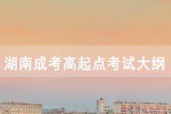 2020年湖南成人高考高起点《物理化学》考试大纲