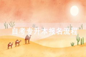 武汉科技大学自考专升本报名流程