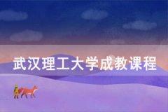 2021年3月武汉理工大学成教课程补考通知