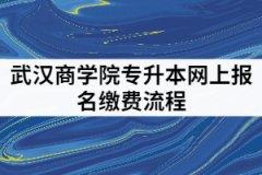武汉商学院2021年专升本网上报名缴费的具体流程有哪些?